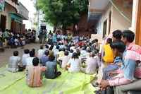 2000 policemen have broken the peaceful protest against the Sardar Sardovar dam project and arrested Metha Patkar and 5 other on their 12th day of indefinite fast!