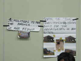 Networking event NTUN at WUF, Bridging the Gap and the Challenge of Urban Evictions