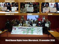 Forum Mondiale sui Diritti Umani, la solidarietà internazionale contro gli sfratti