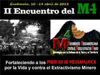 Guatemala, Pueblos en resistencia al modelo extractivo minero
