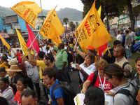 Habitat III detiene la marcha contra los desalojos