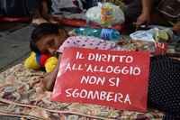 Italia, pubblicato il decreto sugli sfratti ai morosi incolpevoli, continua la lotta per sfratti zero
