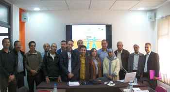 Rabat, Atelier Autogéré sur les premiers résultats du recensement général 2014, axe Habitat