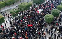 Tunis, Communiqué a propos de l'assassinat de Chokri Belaid