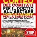 Milano, 4/12/14: Corteo per il diritto all'abitare e contro gli sgomberi